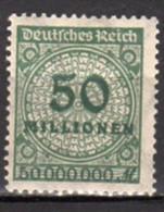 Allemagne Empire Neuf Avec Charnière N°302 Lot 126 - Neufs