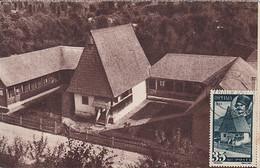 AVRAM IANCU, 1848 REVOLUTION, BIRTH HOUSE, SPECIAL POSTCARD, 1945, ROMANIA - 1918-1948 Ferdinand, Charles II & Michael