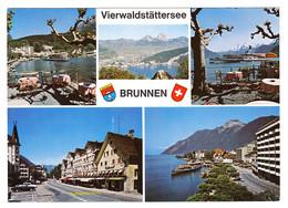 Brunnen (Ingenbohl) Am Vierwaldstättersee - 5 Ansichten - SZ Schwyz
