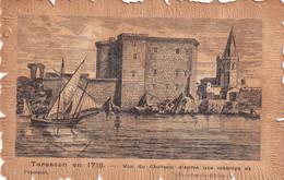 13  Tarascon  Vue Du Chateau D'apres Une Estampe - Tarascon
