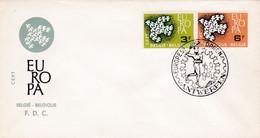 Enveloppe Cover Brief FDC 1193 1194  Europa Antwerpen - FDC