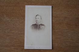 Cdv  Armée Française  Second Empire  Général  Portant Médaille Du Mexique Et Croix De Mentana  Par Malardot à Metz - War, Military