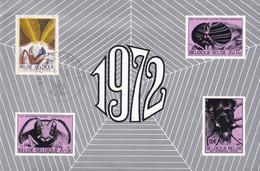 1610 Insecte Papillon De Lune - Brieven En Documenten
