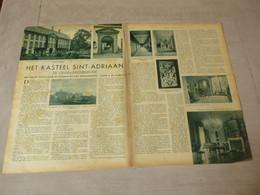 """Origineel Knipsel ( 2735 ) Uit Tijdschrift """"  De Stad """"  1937 :  Geeraardsbergen   Geraardsbergen - Unclassified"""