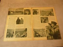 """Origineel Knipsel ( 2740 ) Uit Tijdschrift """"  De Stad """"  1937 :   Ostende   Oostende - Dover   Malle  Boot - Oude Documenten"""
