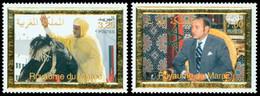 MAROC 10è An. Intron.Mohammed VI 2v Neuf ** MNH - Marokko (1956-...)
