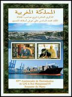 MAROC Bloc 10è An. Intron.Mohammed VI Neuf ** MNH - Marokko (1956-...)