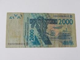 BENIN 2000 FRANCS - Benin