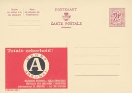 Carte Entier Postal Publibels 1864 Totale Zekerheid - Postwaardestukken