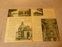 """Origineel Knipsel ( 2743 ) Uit Tijdschrift """"  De Stad """"  1937 :   Geeraardsbergen   Geraardsbergen - Unclassified"""