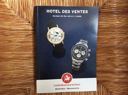 CATALOGUE CREDIT MUNICIPAL DE PARIS Vente Aux Enchères MONTRES Breitling Rolex Patek Chanel Bulgari Jaeger Montblanc - Orologi Antichi
