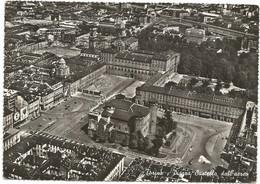 O3502 Torino - Piazza Castello - Panorama Aereo Vista Aerea Aerial View Vue Aerienne / Viaggiata 1963 - Places