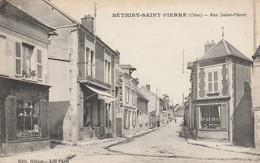 Bethisy Saint Pierre- Rue Saint Pierre - Scan Recto-verso - Frankreich