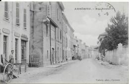 Ambérieu - Rue Rozier - France