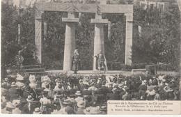 76 Lillebonne. Theatre Romain. Souvenir De La Représentation Du Cid .1907 - Lillebonne