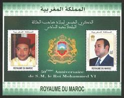 MAROC Bloc 50ans Roi Mohammed V 2013 Neuf ** MNH - Marokko (1956-...)