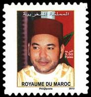 MAROC Roi Moham.VI 1v Adh/carnet(3,5 Neuf ** MNH - Marokko (1956-...)