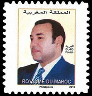 MAROC Roi Moham.VI 1v/Adh/carnet(8,4 Neuf ** MNH - Marokko (1956-...)