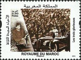 MAROC Les 3 Glorieuses 1v 2013 Neuf ** MNH - Marokko (1956-...)