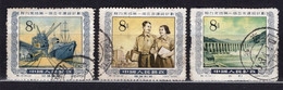 China PR 1959 Mi# 289, 292,296 Five Years Plan  -used (y11) - Used Stamps