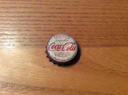 "Ancienne Capsule De Soda ""Coca-Cola - MARSEILLE (13)"" (intérieur Liège) - Soda"