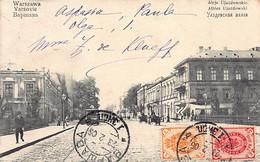 Poland - WARSZAWA - Aleje Ujazdowskie - Publ. A. Chlebowski - Poland