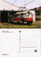 Postcard .Tschechien Tram Straßenbahn Tschechien Žižkov 2012 - Czech Republic