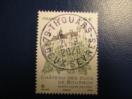 2020 Château DUCS DE BOURBON Oblitéré Cachet Rond 21/09/2020 - Used Stamps