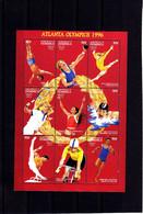 Olympics 1996 - Cycling - DOMINICA - Sheet MNH - Estate 1996: Atlanta