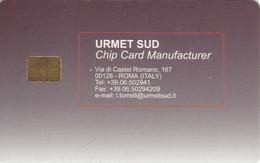 PROTOTIPO URMET SUD CON CHIP -(USP30.5 - Tests & Diensten