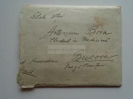 ZA330.17  Romania Cover Cancel 1926 Sent To Artemiu Bora   Bucova  Hunedoara  Letter With Interesting Content - 1918-1948 Ferdinand, Charles II & Michael