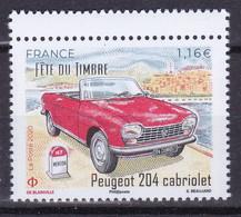 FRANCE 2020 Voitures Car Peugeot 204 Cabriolet Fête Du Timbre Nationale 7 1,16€ MNH ** - Coches
