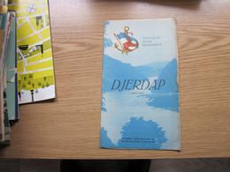 Djerdap Iron Gate Yugoslav River Navigation - Toeristische Brochures