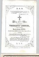 30 09/  13/  ° IEPER?? 1772??  + YPRES  1851   FRANCOIS LOONUS - Religion & Esotérisme