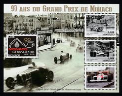 Monaco 2019 : LUXE !!! - Bloc N° F3183 ** - 90 Ans Du Grand Prix De Monaco (timbres 3183 à 3186) - Neuf** - - Unused Stamps