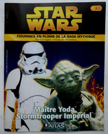 LIVRET EDITIONS ATLAS STAR WARS FIGURINES 2005 3 (2) - YODA ET STORMTROOPER - Episode I