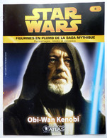LIVRET EDITIONS ATLAS STAR WARS FIGURINES 2005 6 - OBI WAN KENOBI OBI-WAN - Episode I