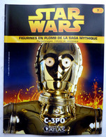 LIVRET EDITIONS ATLAS STAR WARS FIGURINES 2005 6 - C - 3PO C-3PO - Episode I