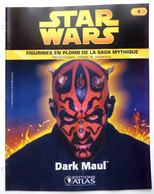 LIVRET EDITIONS ATLAS STAR WARS FIGURINES 2005 8 - DARK MAUL - Episode I