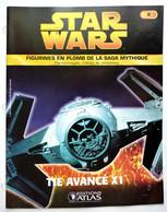 LIVRET EDITIONS ATLAS STAR WARS FIGURINES 2005 8 - TIE AVANCE X1 - Episode I