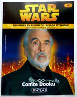 LIVRET EDITIONS ATLAS STAR WARS FIGURINES 2006 12 - COMTE DOOKU - Episode I