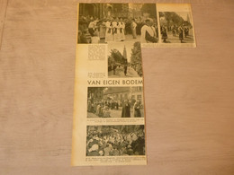 """Origineel Knipsel ( 2752 ) Uit Tijdschrift """"  De Stad """"  1937 :  Hoogstraeten   Hoogstraten - Non Classificati"""