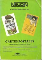 Catalogue Neudin 1980 - Argus Cartes Postales - Bücher & Kataloge