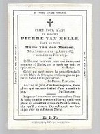 30 09/  15//    ° AUDENAERDE 1784 + 1844   PIERRE VAN MELLE - Religion & Esotérisme