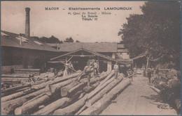 Macon , établissement Lamouroux , La Scierie , Animée - Macon