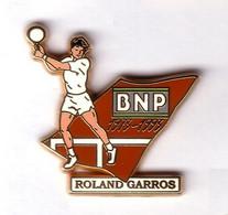 AB301 Pin's TENNIS ROLAND GARROS BNP ARTHUS BERTRAND Achat Immédiat - Tennis