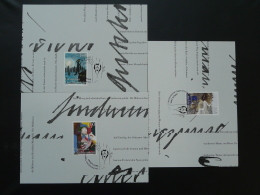 Carte Maximum Card (x3) Légendes Legends LIBA 2012 Liechtenstein 2012 Ref 351 - Maximumkaarten