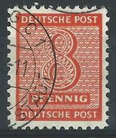XX-/-803-. Ref. Michel (West-Sachsen) N° 118 B X, Obl. FILIGRANE \\\, Wz 1 X, COTE 110.00 €, K 11¼X11½ VOIR VERSO - Sowjetische Zone (SBZ)