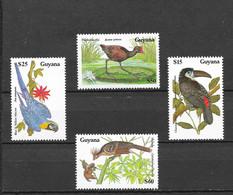 Guyana 1990 MiNr. 3081 - 3084 Birds WWF 4v MNH**  11 € - Guyana (1966-...)