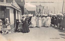TREBOUL  - Procesion De La Mer ( Edtrs Carnec ) Peu Courante - Tréboul